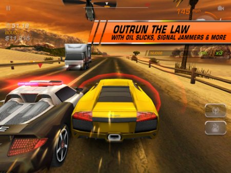 Need for Speed Hot Pursuit для iPad/iPhone/iPod - полицейские гонки