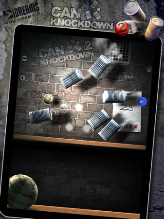 Can Knockdown 2 - сбивай банки на iPad | iPhone | iPod