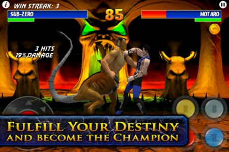 Ultimate Mortal Kombat 3 для iPad | iPhone | iPod - лучший файтинг