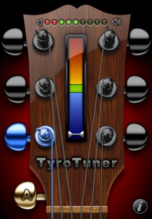 TyroTuner - гитарный тюнер для iPhone | iPod