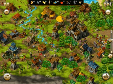 The Settlers - лучшая стратегия для iPad | iPhone | iPod
