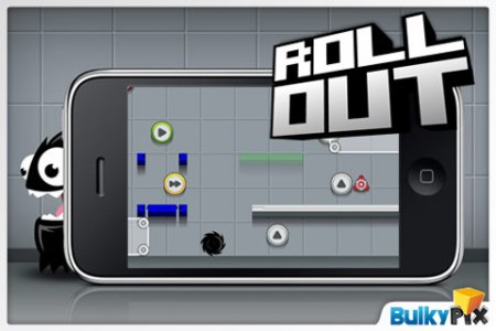 RollOut - необычная аркада для iPhone | iPod
