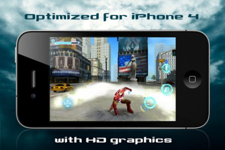 Iron Man 2 для iPhone | iPod