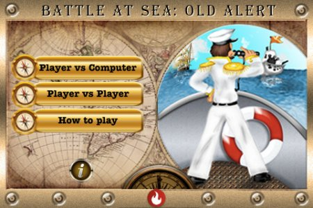 Battle at Sea: Old Alert - морской бой для iPhone и iPod