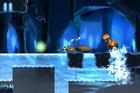 Ice Age: Dawn Of The Dinosaurs для iPad | iPhone | iPod - белка в поиске ореха