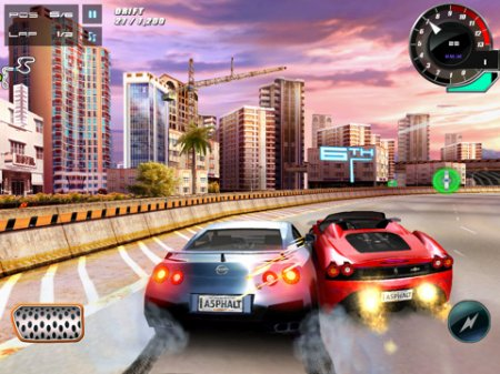 Asphalt 5 для iPad | iPhone | iPod