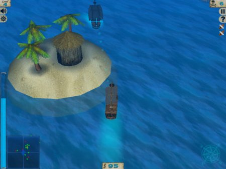 Pirate Waters для iPad | iPhone | iPod - охота на пиратов