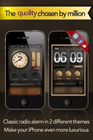 Radio Alarm Clock - радио-будильник для iPhone | iPod