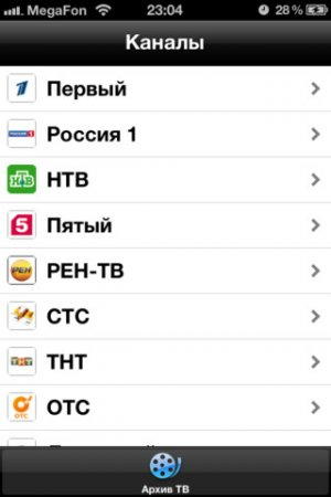 cn.ru - почти телевизор для iPad | iPhone | iPod