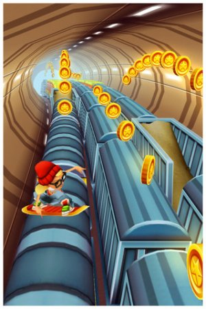 Subway Surfers для iPad | iPhone | iPod - серфинг - игра